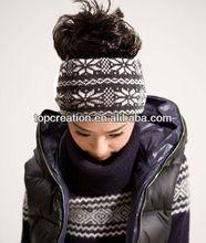 Fashion girls winter knit hair band