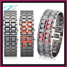 2013 digital iron samurai power iron balance style bracelets watches for men as 2013 new products