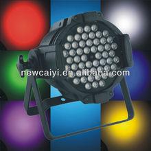 54*3w rgbw 3 in 1 pro club par64 led lighting lamp