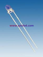 3mm flashing lighting DIP led