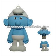 Blue puppy shape usb flash drives /4gb