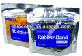 elástico del pelo banda de naturales y sintéticos de colores de la banda de goma