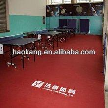 ITTF Table tennis PVC sports flooring/Ping pong mat