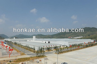 Carbon fiber wool steel structure building