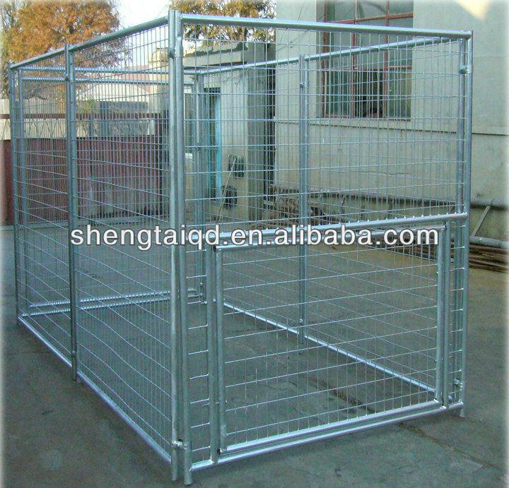 5x10x6ft modular dog kennel