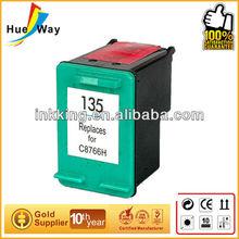 Hueway cartridges! aluminium label printer active carbon filter cartridge for hp C8766H 135