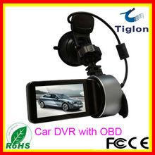 h.264 cameras cars 2.7ch OBD 2013 car dvr 5 mega 1080p