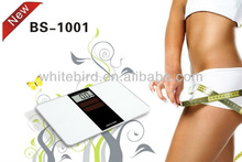 Solar powered bathroom weighing scale/No battery 150kg