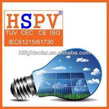 Pv Poly 130w High Quality Solar Power Panel