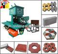 Dmyf500a caliente venta de funcionamiento fácil fly ash y el bloque de arena que hace la máquina( dingxin)