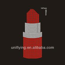 custom wholesale iron on transfers lipstick