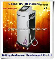 www.golden-laser.org/2013 New style E-light+IPL+RF machine beauty salon equipment packages