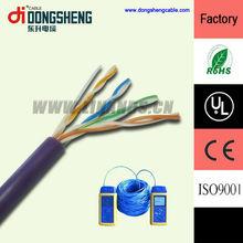 Fluke test & high quality Cat5e utp color code network cable