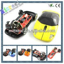 Car Shape Mouse,2.4G Cordless Optical Mouse