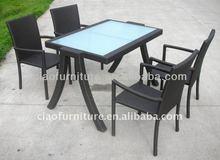 T- 2013 pop wicker furniture outdoor bistro set C-TC-113