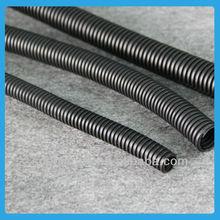 Cut open flexible corrugated hose