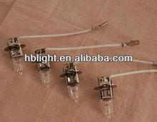 2013 hot sale fog light h3 6v 55w halogen bulb