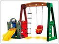 Mutifunctional parque de diversões balanço e escorrega jogos para crianças lt-2161f