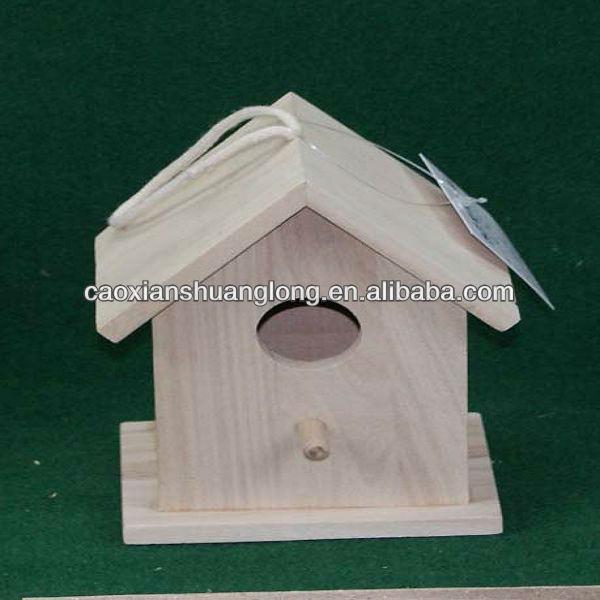 2013 venda quente de madeira antiga casa do pássaro com preço competitivo