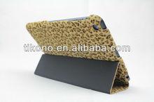 2013 fashion flip leather cover case for ipad mini