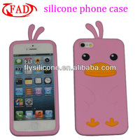 Soft Silicone Phone Cases Animal Shape for iPhone, Factory Camera Design