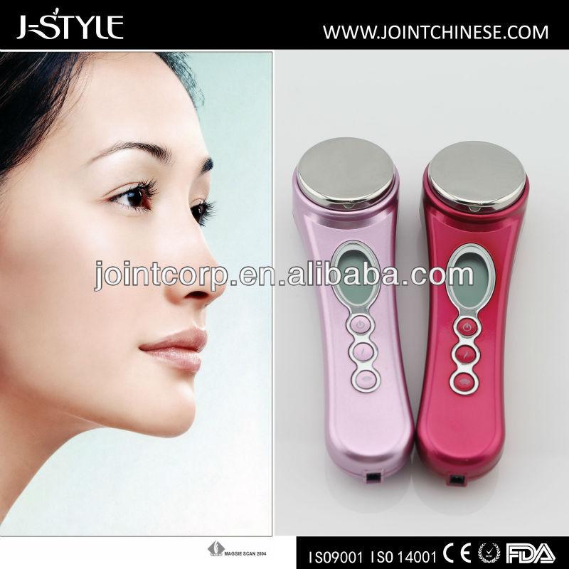 Taşınabilir yüz ultrason anti- kırışıklık tedavisi yüz temizleme makinesi