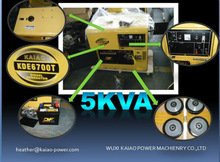 Hot sales 5kw Diesel Generator/ Low price with good quality generator CE&ISO approved