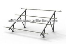 adjustable ground mount for solar