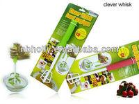 TV357-16 Plastic rotation clever egg whisk/egg beater