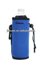Neoprene Water Bottle Drawstring Insulator Cooler