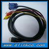 HDMI to VGA 3 RCA Converter Adapter Cable