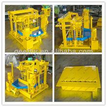 Hollow brick QMY4-30 manual brick press machine