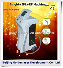 2013 Importer E-light+IPL+RF machine beauty equipment hair removal 2013 eraser hair removal