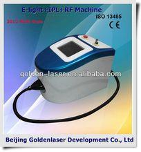 2013 Exporter beauty salon equipment diode laser E-light+IPL+RF machine 2013 ipl no no hair removal ipl machine face massage
