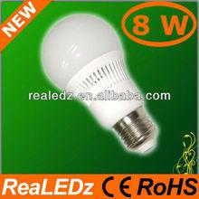 2012 pop 8W E27 wholesale led light bulbs for sale