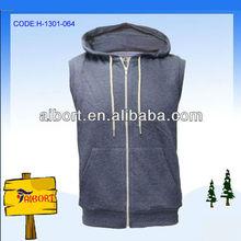 women rabbit fur vest (H-1301-065)