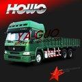 6*4 howo camión de carga entre china y mejor que ford pickup