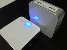 usb phone charger for motorola v8 6600mah Li-ion18650 Battery cell backup for tablet and phones--model U660B