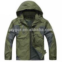 Casual mens jaqueta com capuz