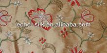 silk high fashion embroidery