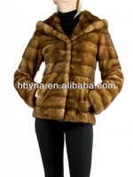 new design style fur jacket