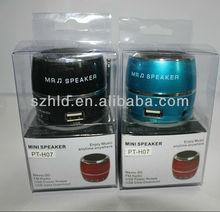 2013 Retro classic waist drum design mini portable speaker
