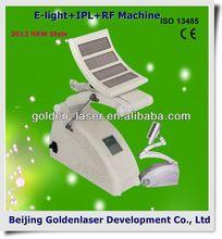 2013 New design E-light+IPL+RF machine tattooing Beauty machine cosmetic tattoo gun