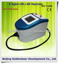 2013 New design E-light+IPL+RF machine tattooing Beauty machine cosmetology training hair