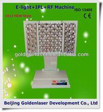 2013 New design E-light+IPL+RF machine tattooing Beauty machine laser pain relief instrument