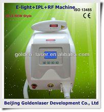 2013 New design E-light+IPL+RF machine tattooing Beauty machine natural hair training mannequins head