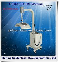 2013 New design E-light+IPL+RF machine tattooing Beauty machine professional gun