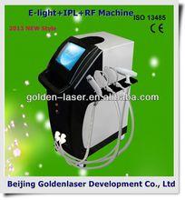 2013 New Design Multi - funcional equipamento da beleza E - luz + IPL + RF corpo da máquina sculptra