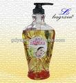 esencia natural del cuerpo gel de aceite de loción para el cuerpo orgánico cosméticos de marca privada
