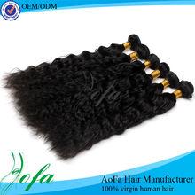 High temperature steam setting 100 percent human hair wigs